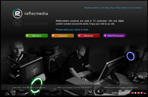 Reflec Media Website Thumbnail